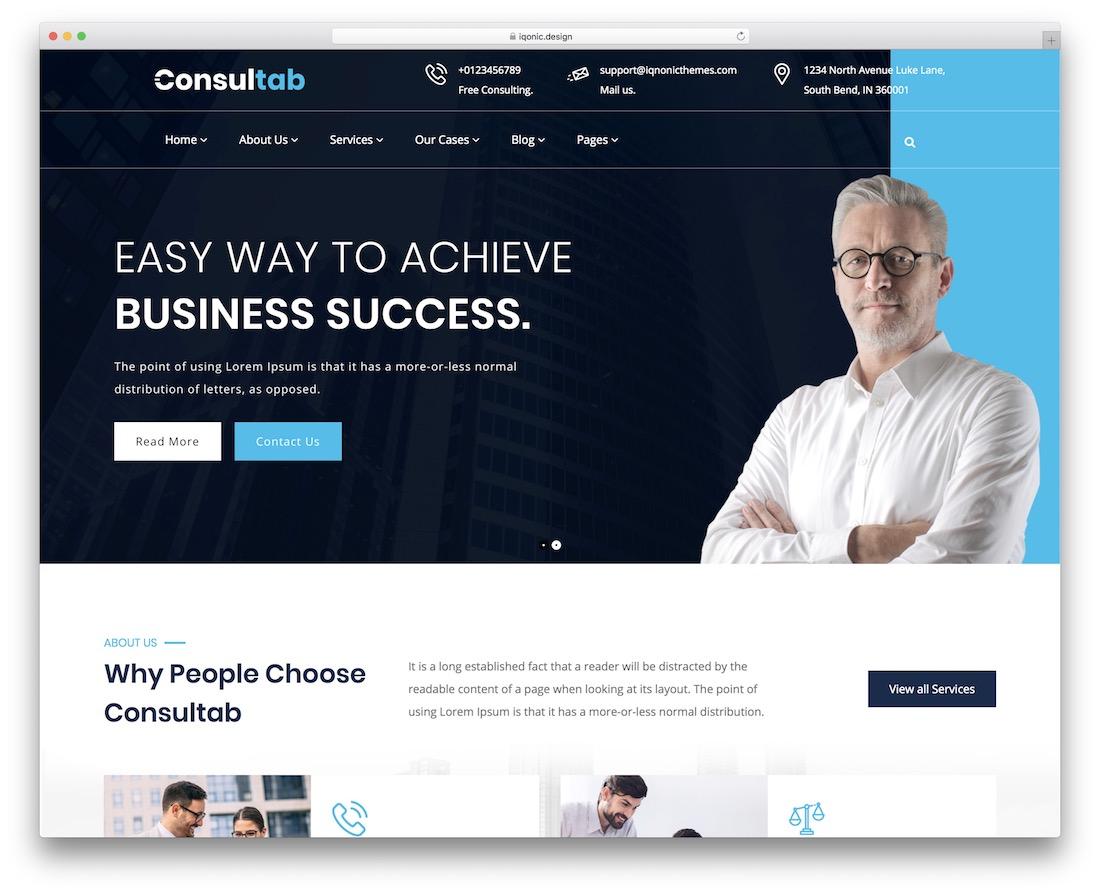 consultab consulting wordpress theme