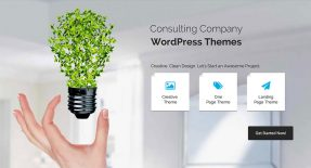 18 Business Consulting Company WordPress Themes 2015