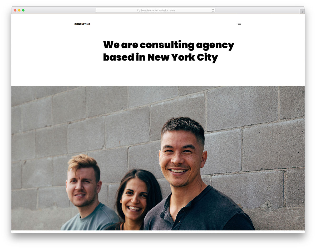Consulting Free Consulting Bootstrap Template