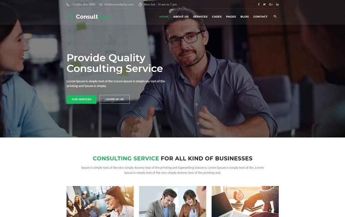 consultplus cryptocurrency website template