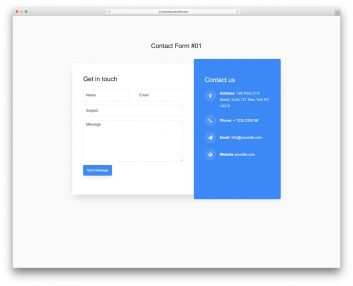 Contact Form 01