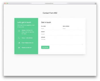 Contact Form 02