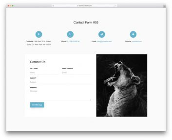 Contact Form 03