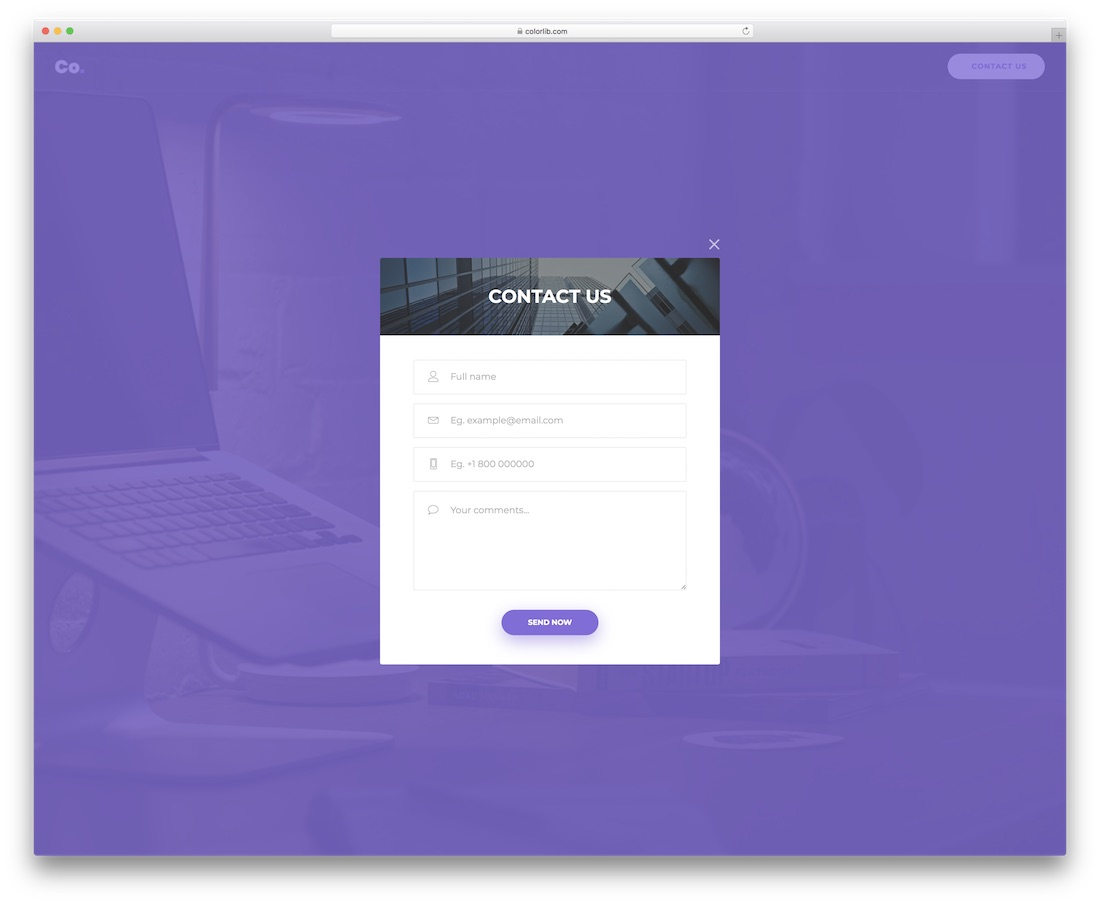 contact form 16 template