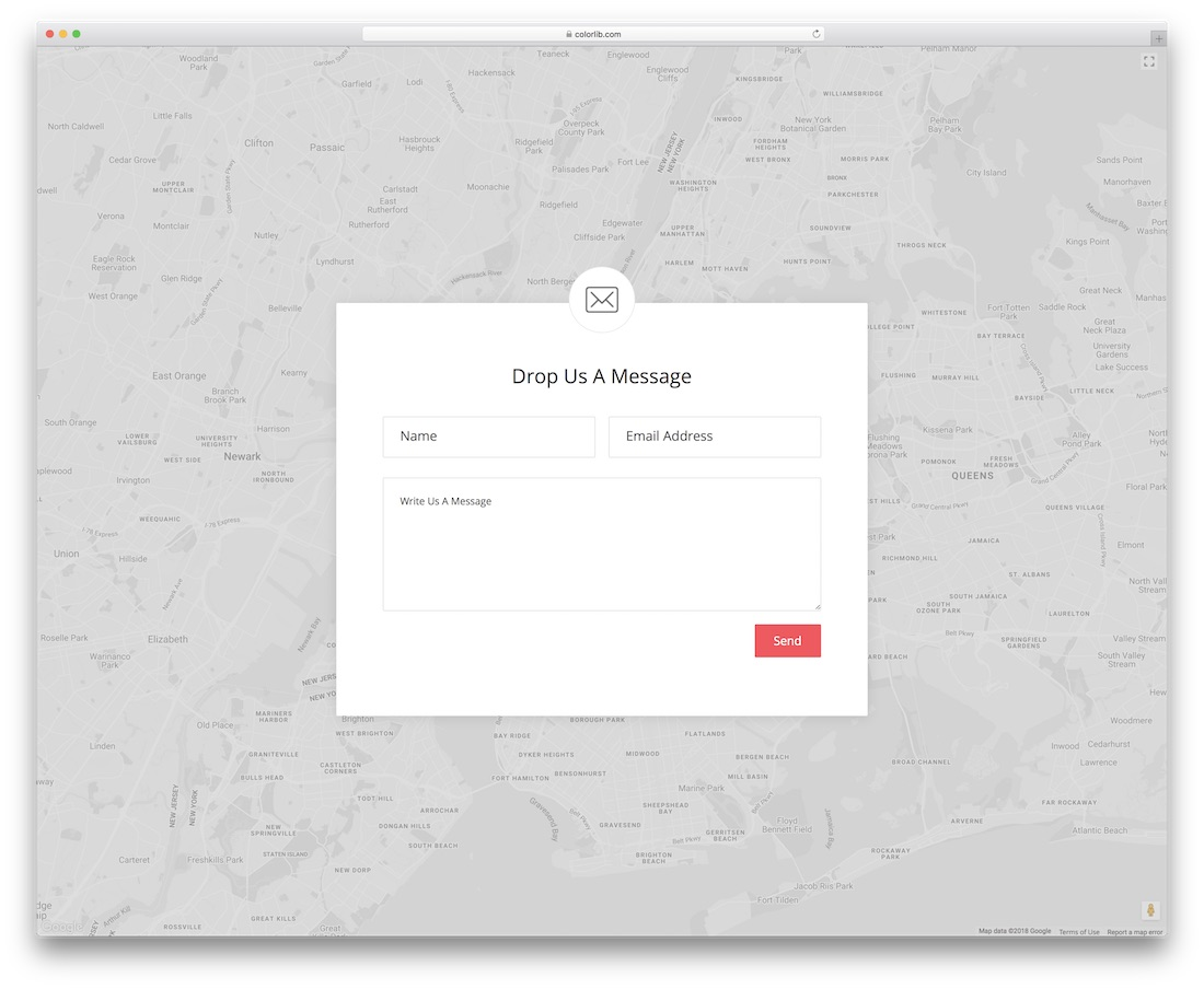 contact form 20 template