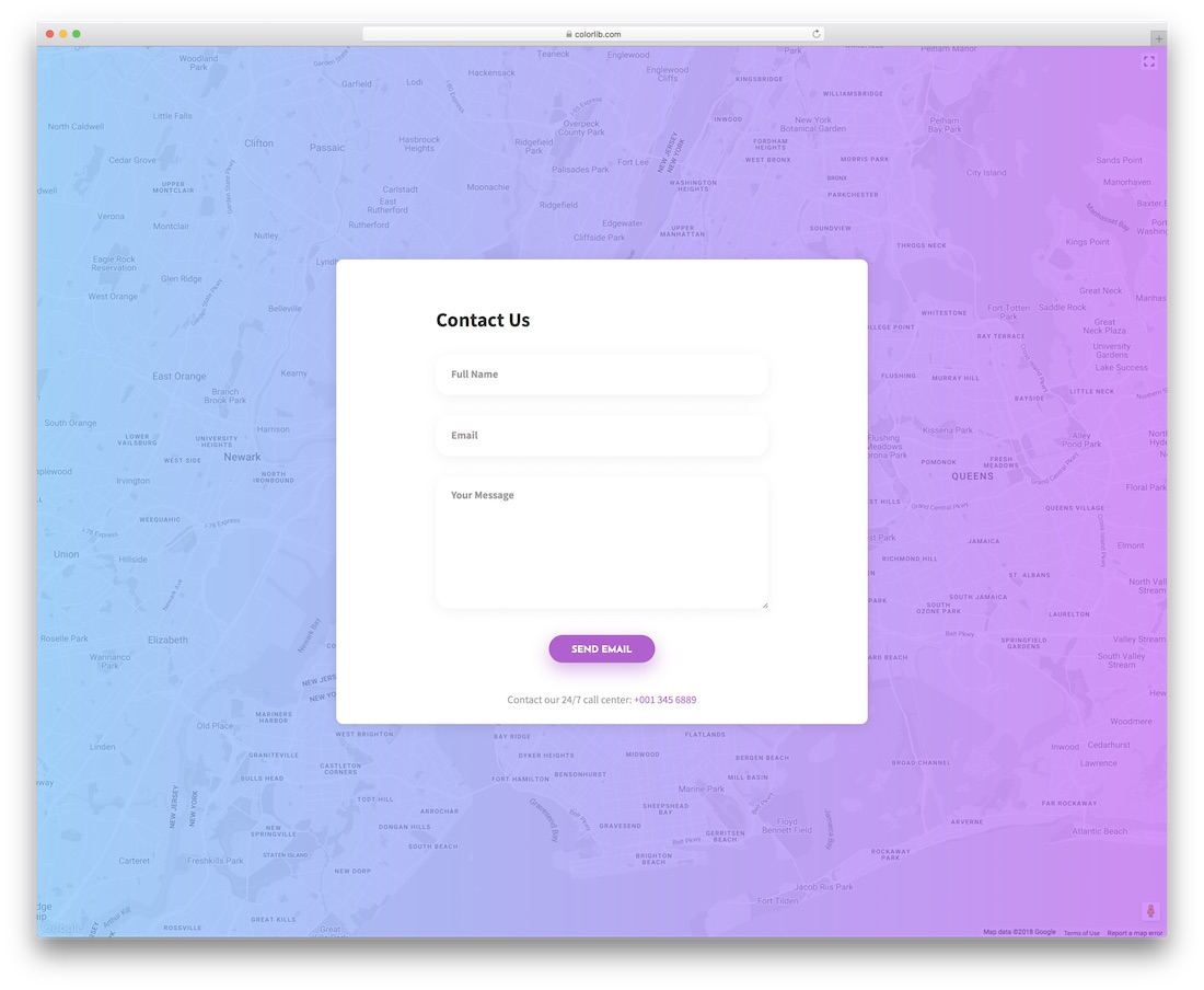 contact form 9 template