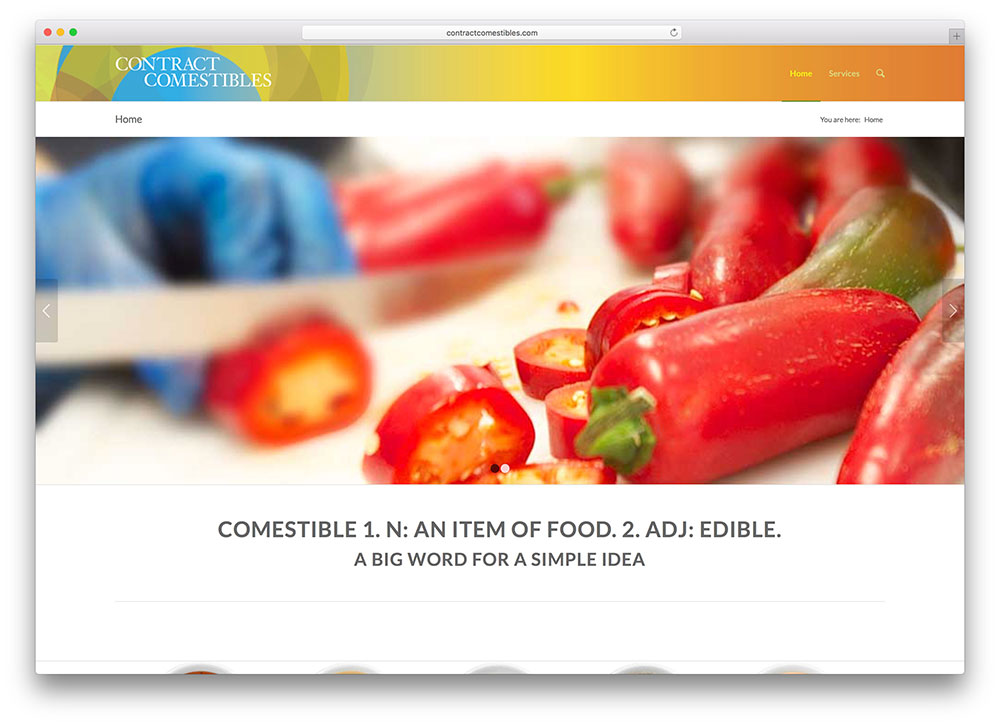 contractcomestibles-food-website-enfold-theme-example