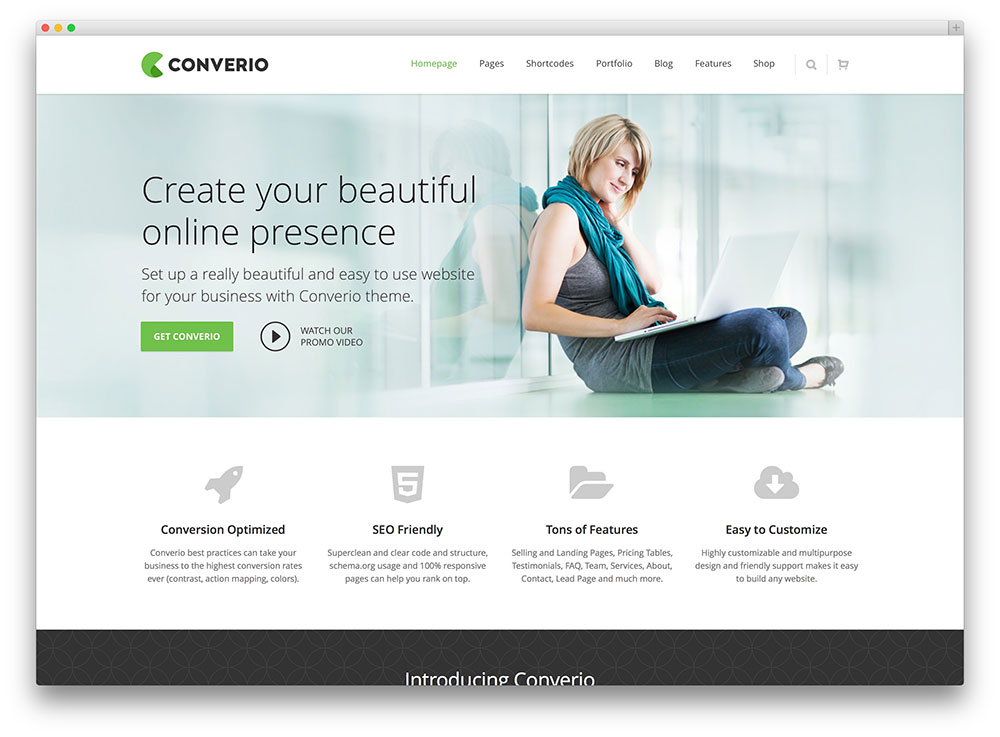 20 best business consulting wordpress themes 2018 colorlib converio beautiful consulting wordpress theme accmission Choice Image