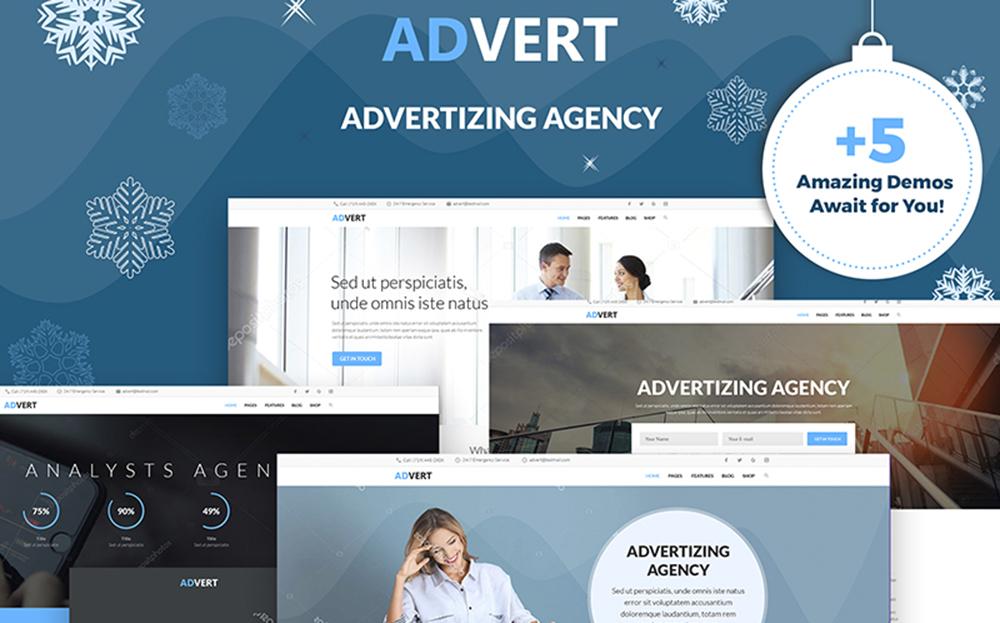 Advert - Advertising Agency WordPress Theme