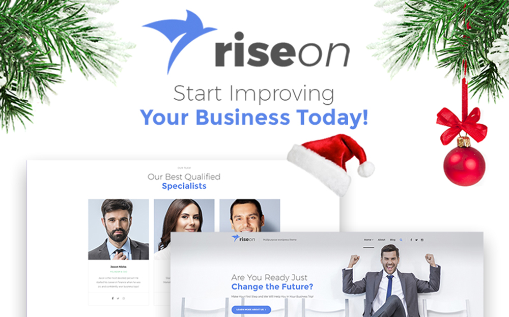 Riseon - Multipurpose WordPress Theme