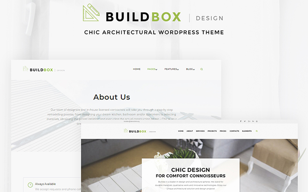 Buildbox - Architecture Agency WordPress Theme