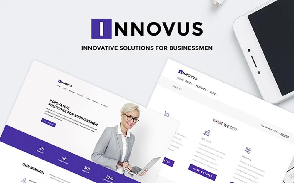 Innovus - Business WordPress Theme