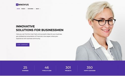 Cool Website Template Ideas