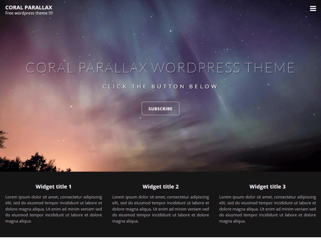 free gallery wordpress theme