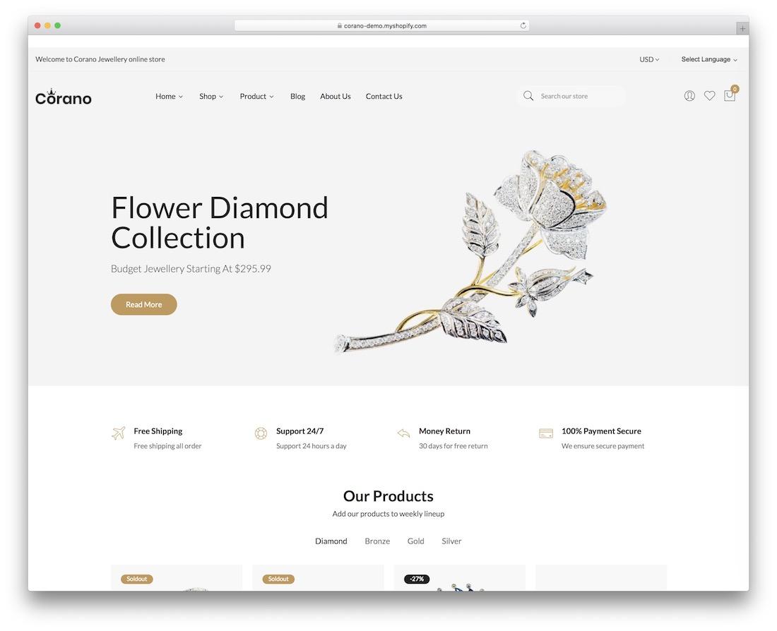 corano boutique shopify theme