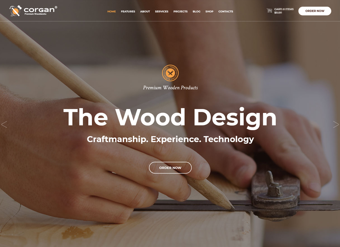 corgan-premium-woodworks-carpentry-wordpress-theme