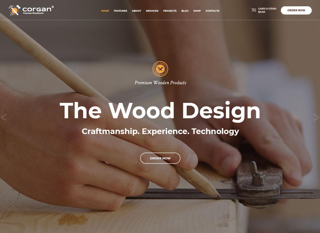 corgan-premium-woodworks-carpentry-wordpress-theme