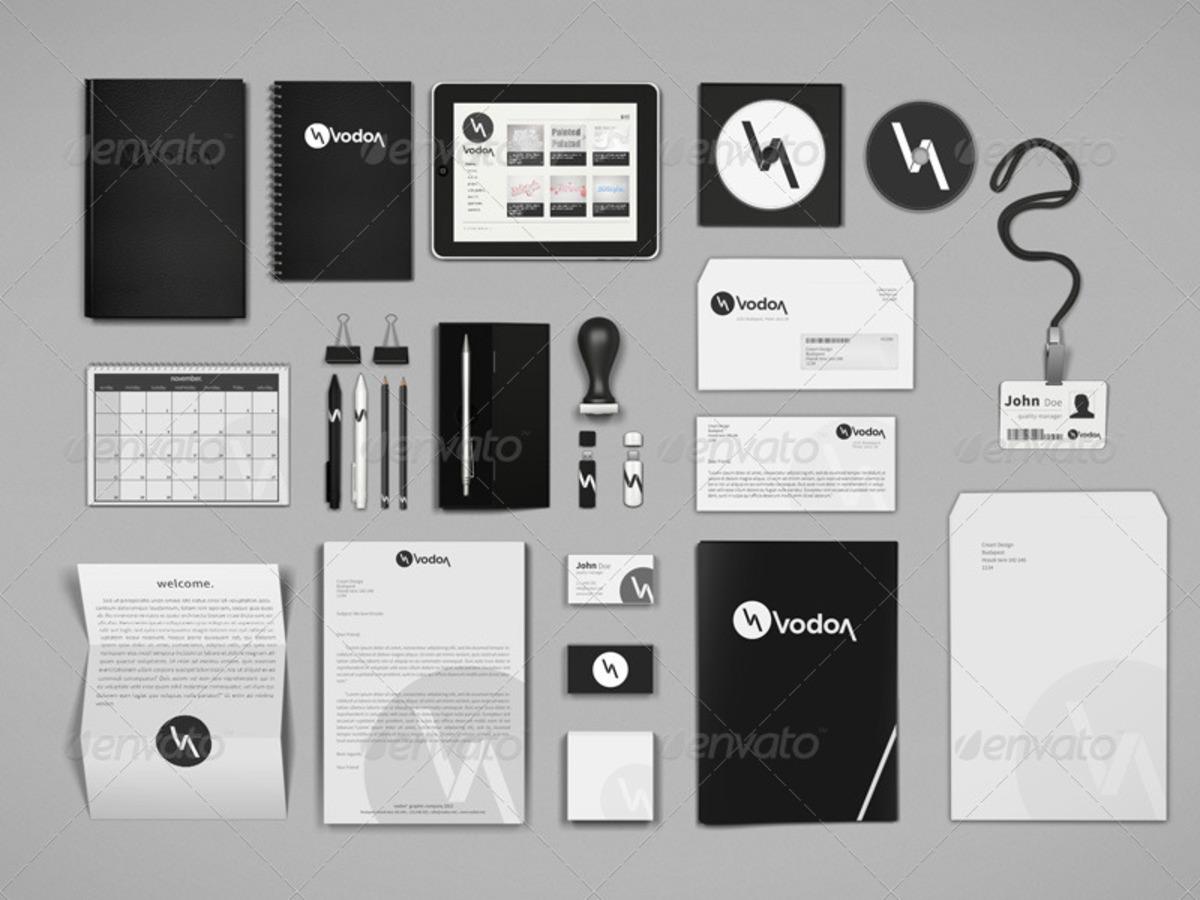 Corporate Brand Identity Mockup