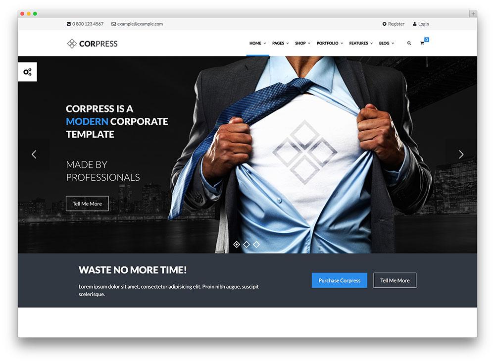 17 Best Financial Company WordPress Themes 2017 - colorlib