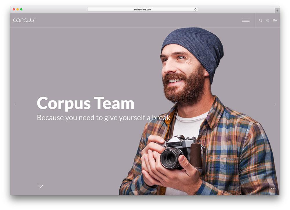 theme design corpus