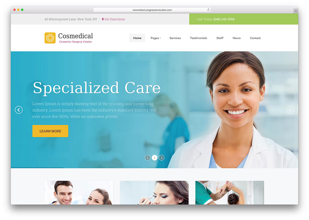 cosmedical-creative-dentist-wordpress-theme