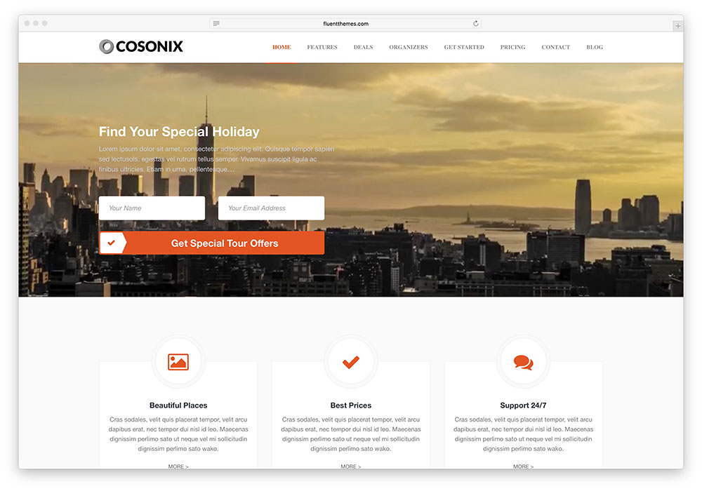 cosonix-clean-multipurpose-travel-theme