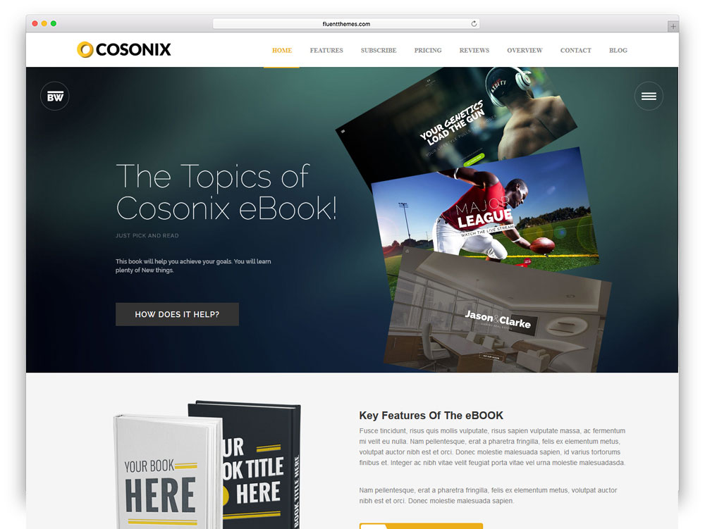 cosonix-ebook-selling-wordpress-theme