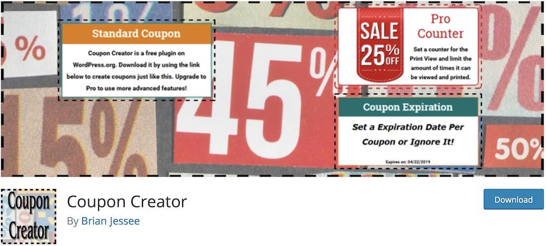 coupon creator wordpress daily deals plugin