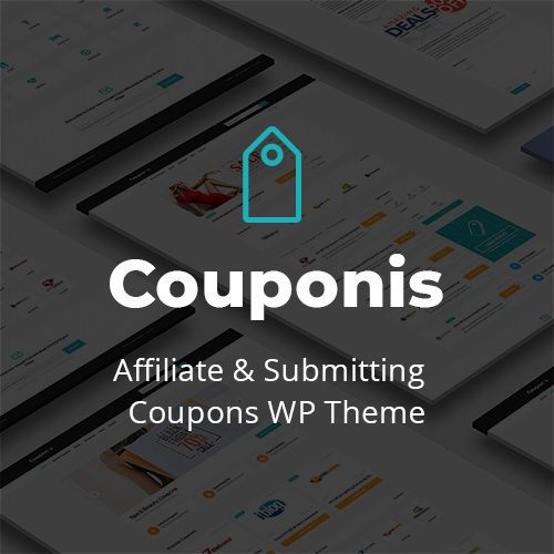 Couponis theme on Colorlib