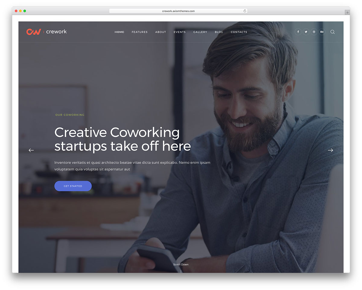 10 Sleek Coworking WordPress Themes 2018