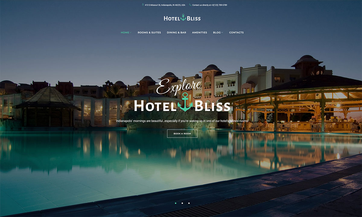 Feel The Coziness Online: 18 Hotel Website Templates To Suit Every Taste