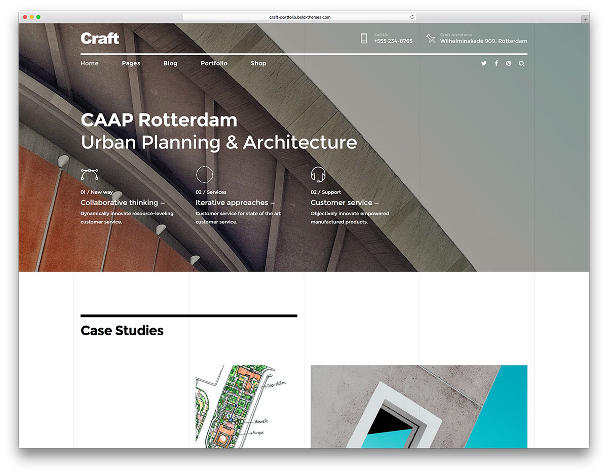 Best WordPress Themes for Architects and Architectural ...