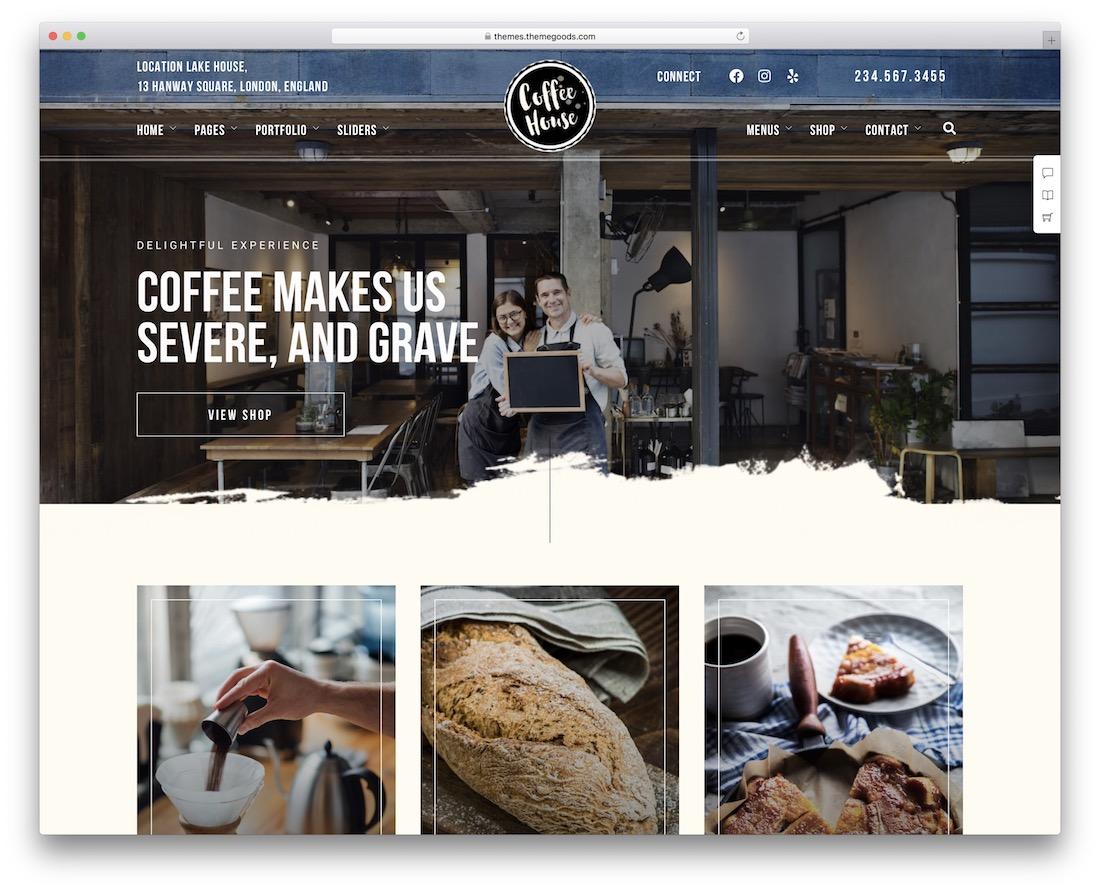craft wordpress bakery theme