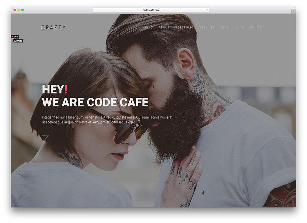 crafty-fullscreen-bootstrap-portfolio-theme
