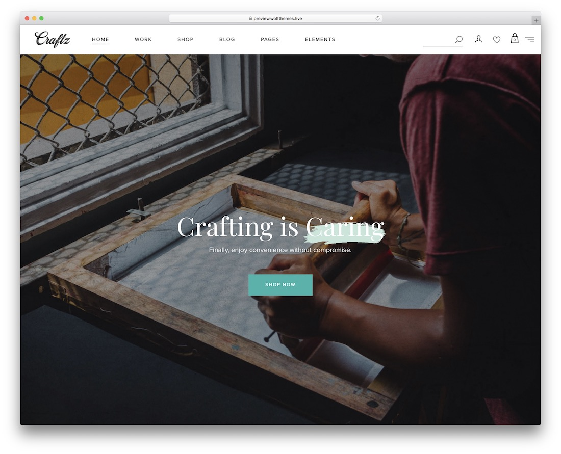 craftz crafts wordpress theme