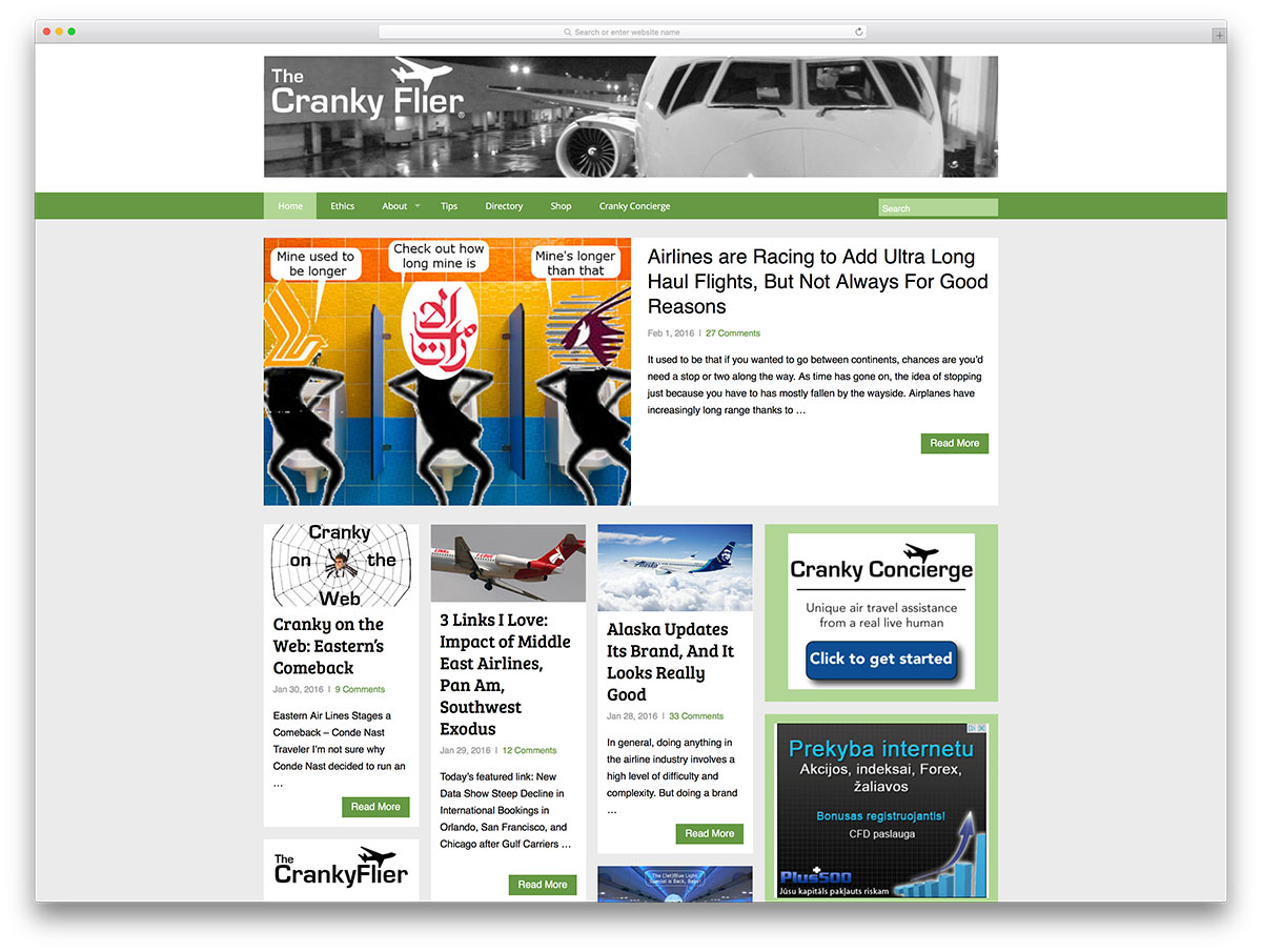 crankyflier-travel-blog-with-wordpress
