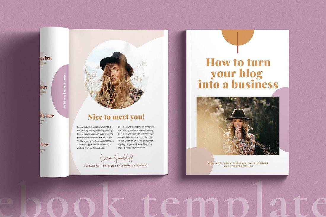 creative ebook template