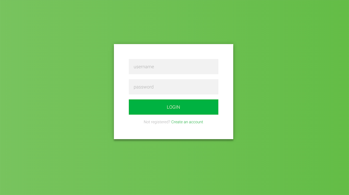 50 free html5 and css3 login form for your website 2018 for Simple php page template