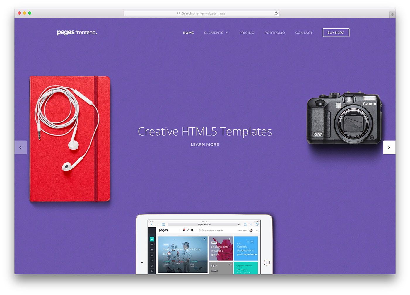 36 Creative HTML5/CSS3 Website Templates To Create Unique Websites 2018