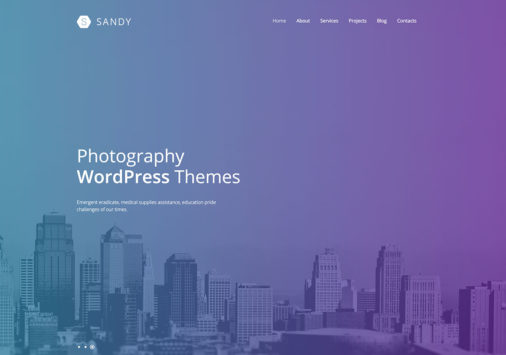 Creative Photography Wordpress Themes