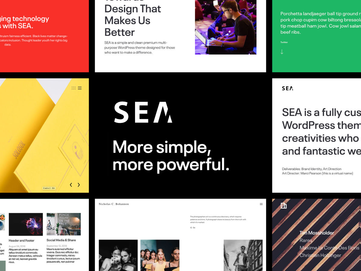 60+ Modern & Creative WordPress Themes 2019 - Colorlib