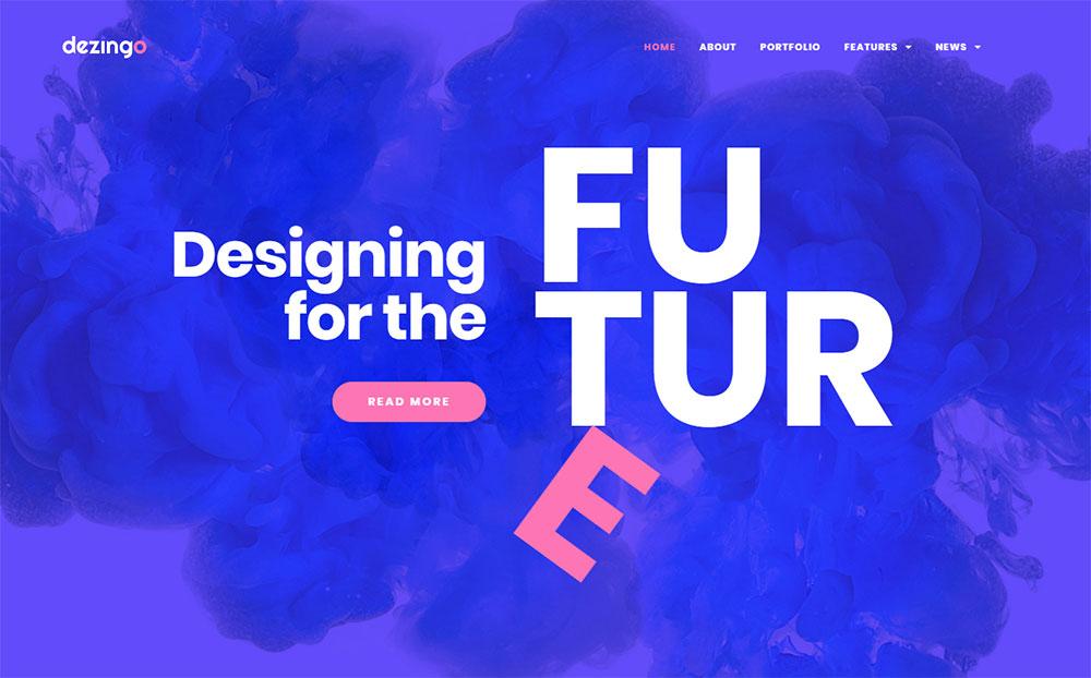 Dezingo - Creative Startup WordPress Theme
