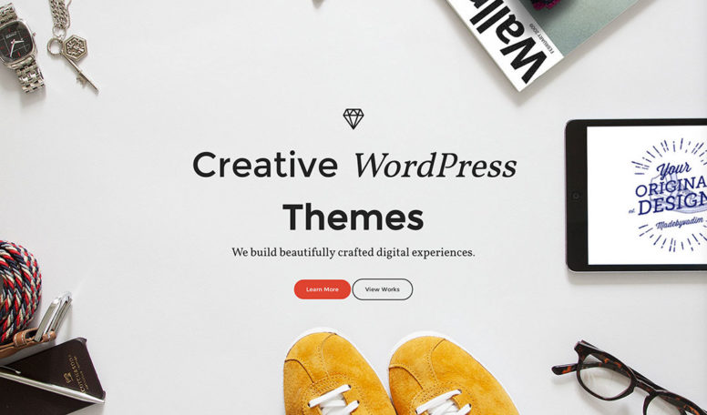 19 Brilliant Creative WordPress Themes 2015