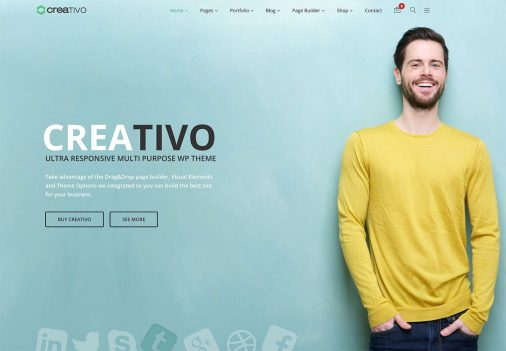Creativo Multiprupose Website Template