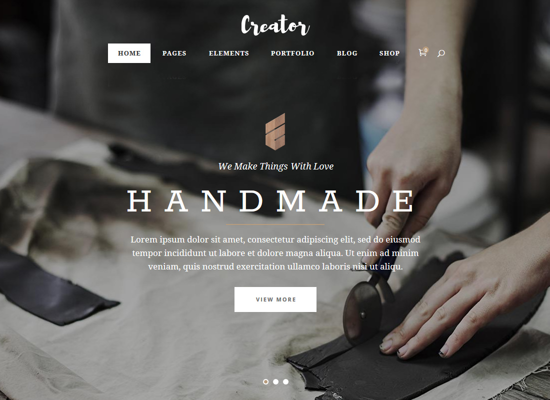 Creator | A Refined Theme for Handmade Artisans, Businesses & Shops