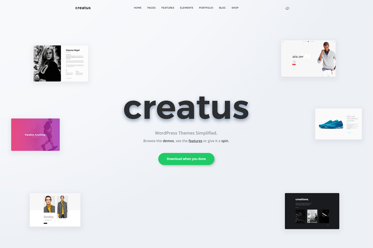 Creatus Theme Review – A Creative Theme For Creative Websites