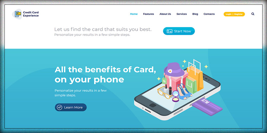 Credit Card Company and Online Banking
