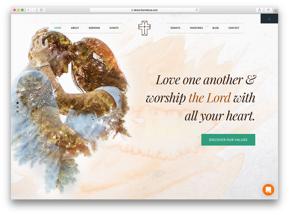 The Core - customizable religios theme