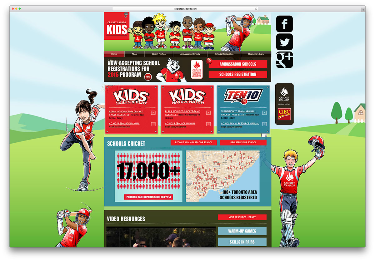cricketcanadakids-kids-site-example-with-wix