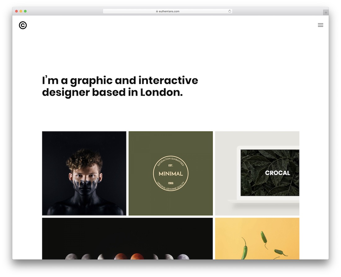 crocal flat design wordpress theme